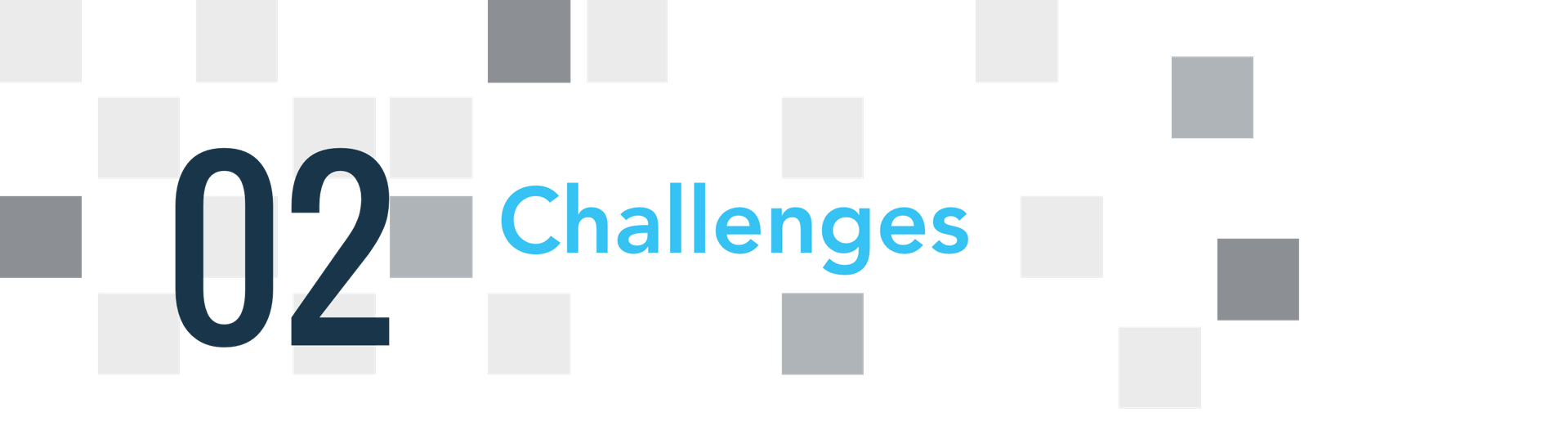 02 challenges
