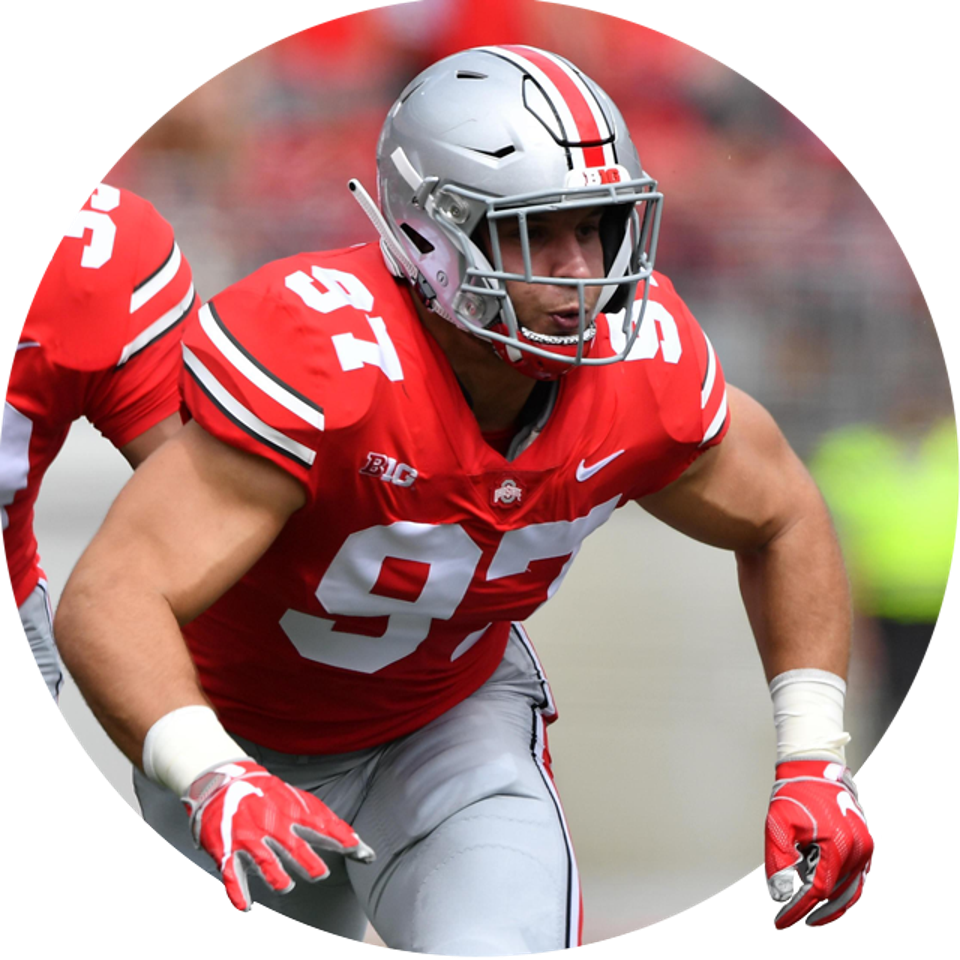 Ohio State's Nick Bosa.