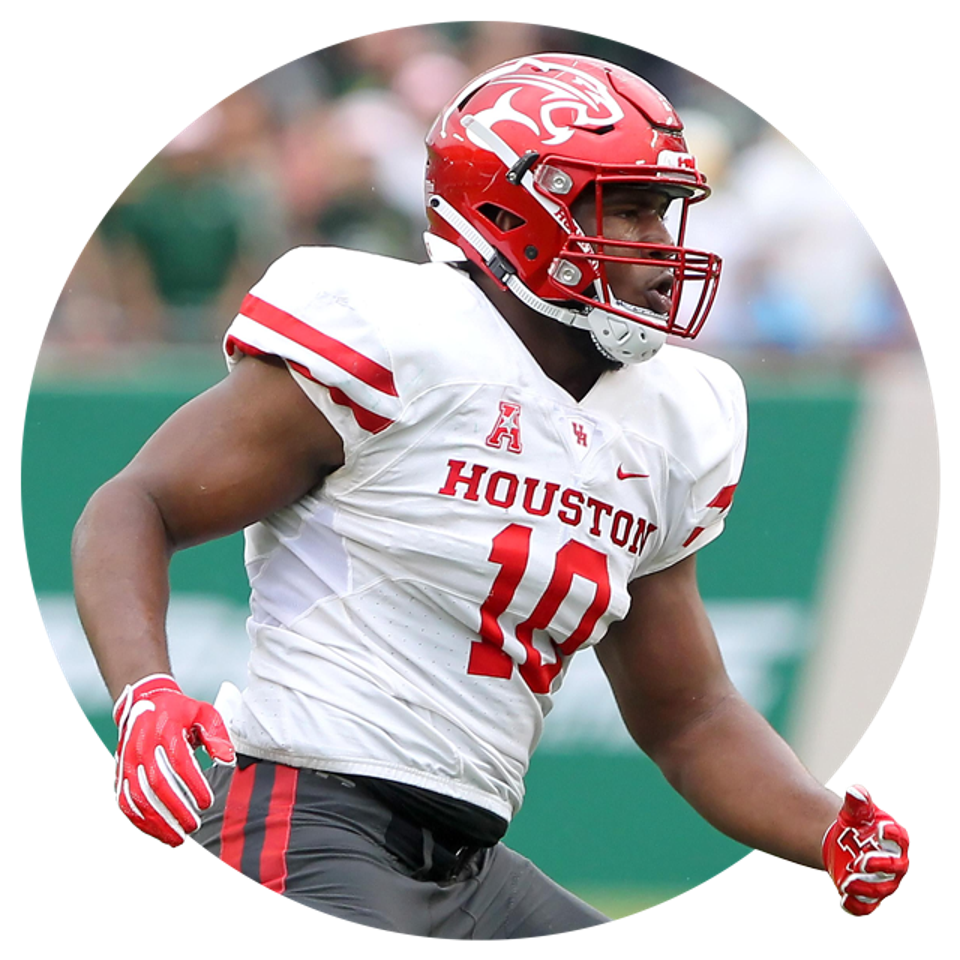 Houston's Ed Oliver.