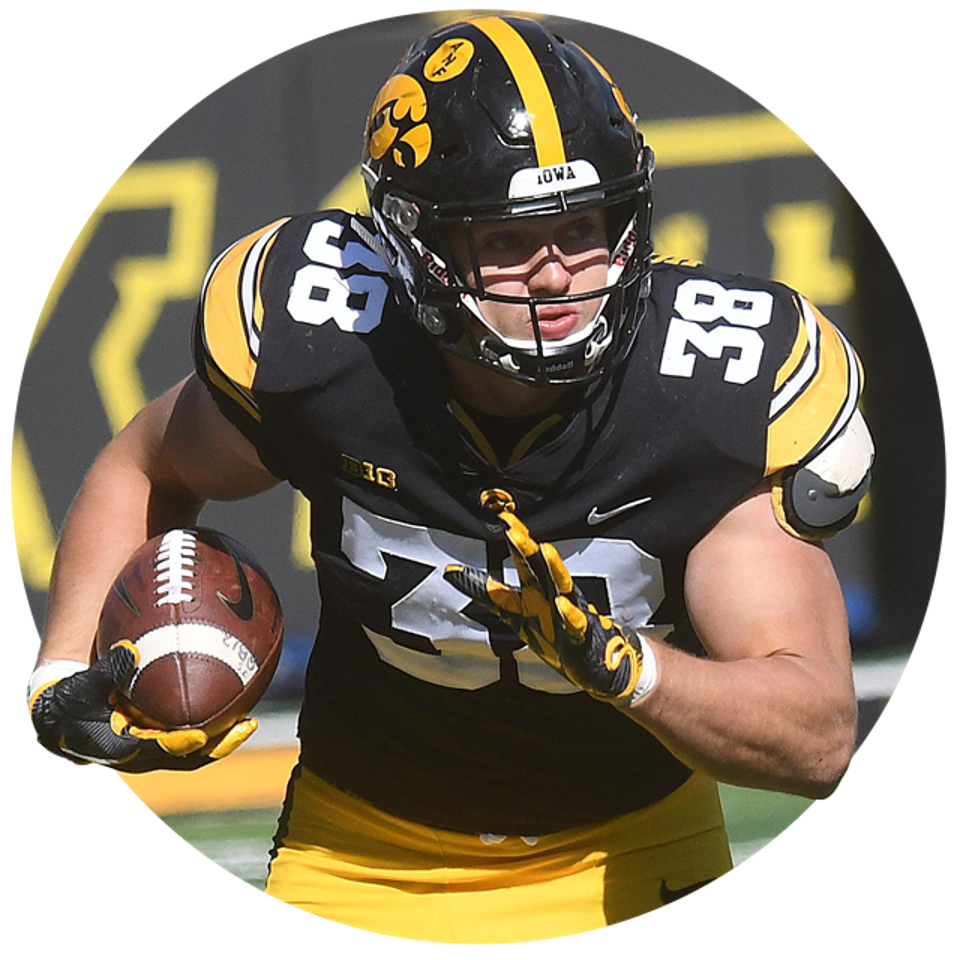 Iowa's T.J. Hockenson.