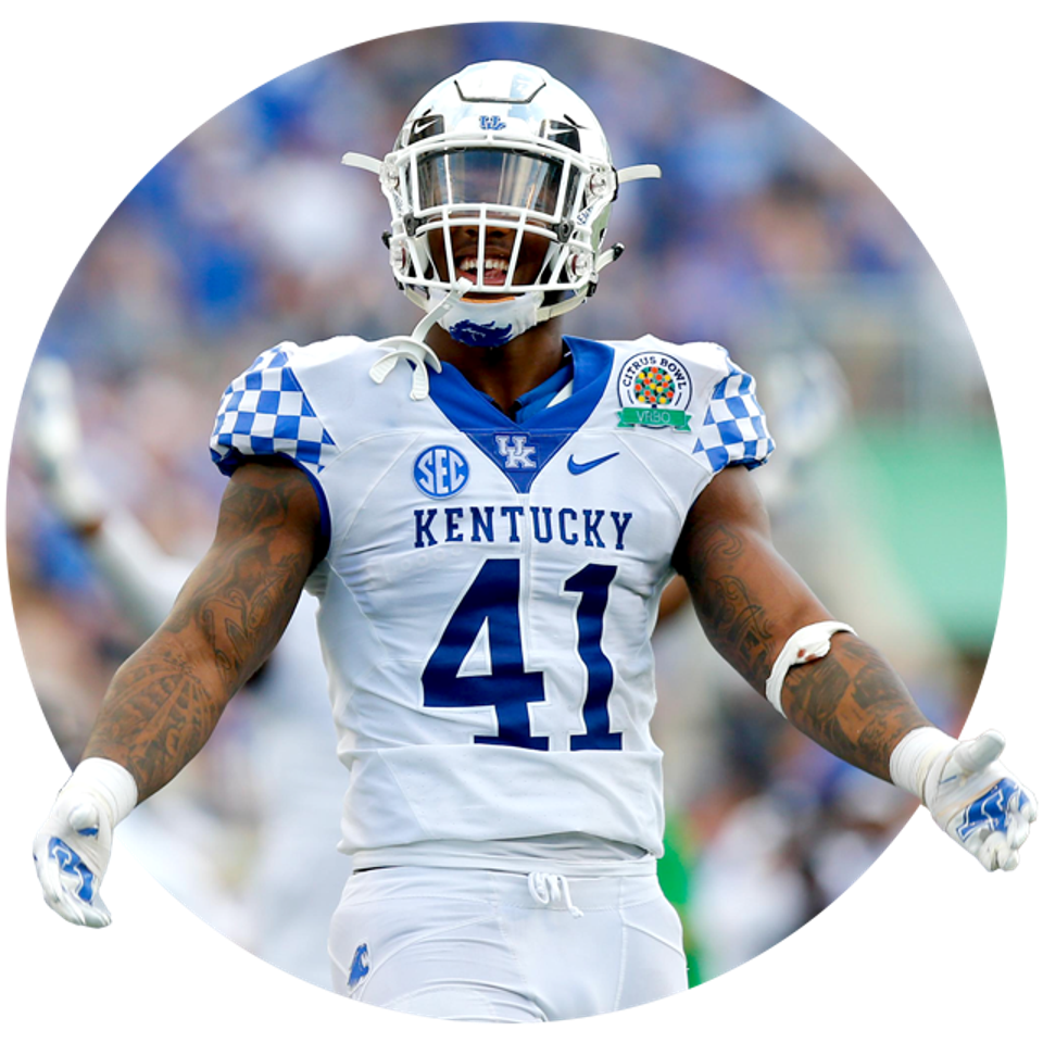 Kentucky's Josh Allen.