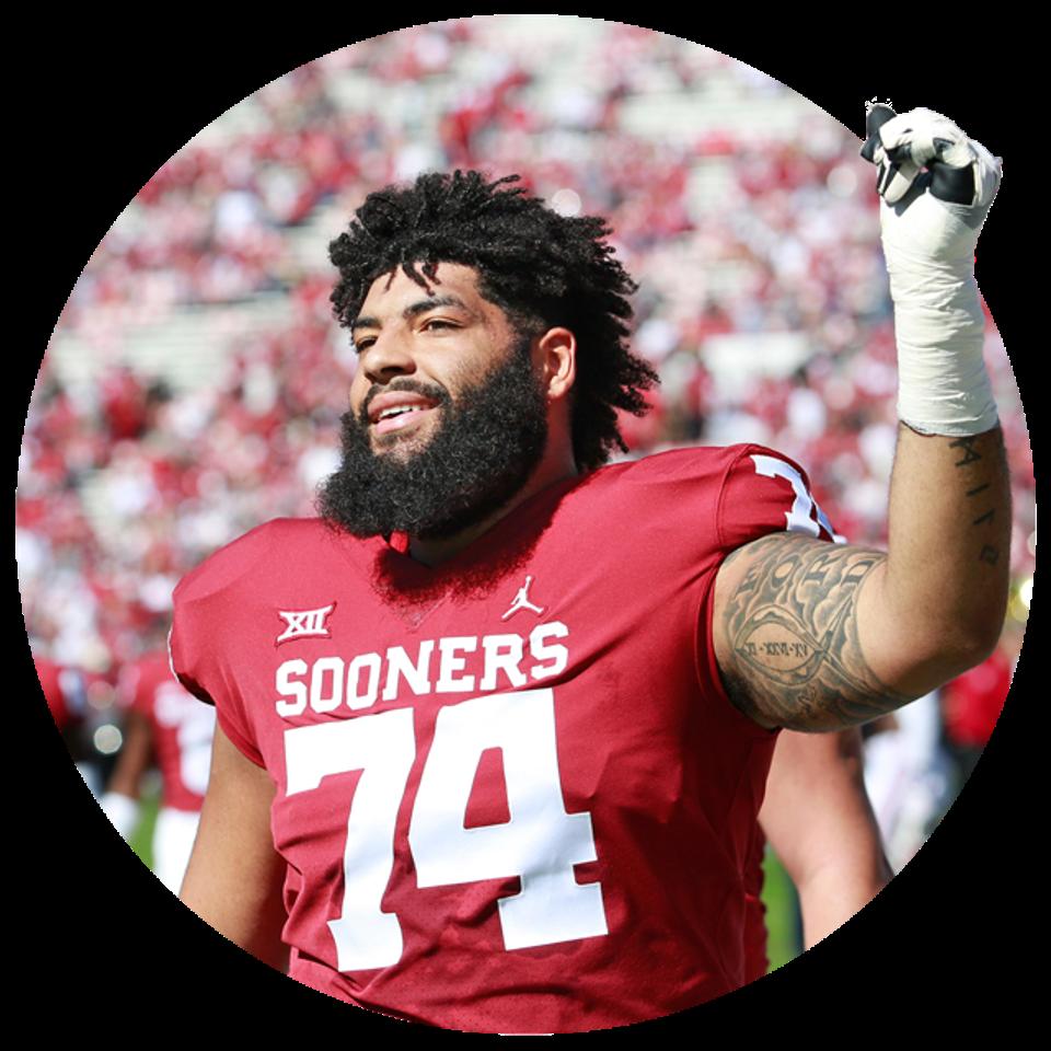 Oklahoma's Cody Ford.
