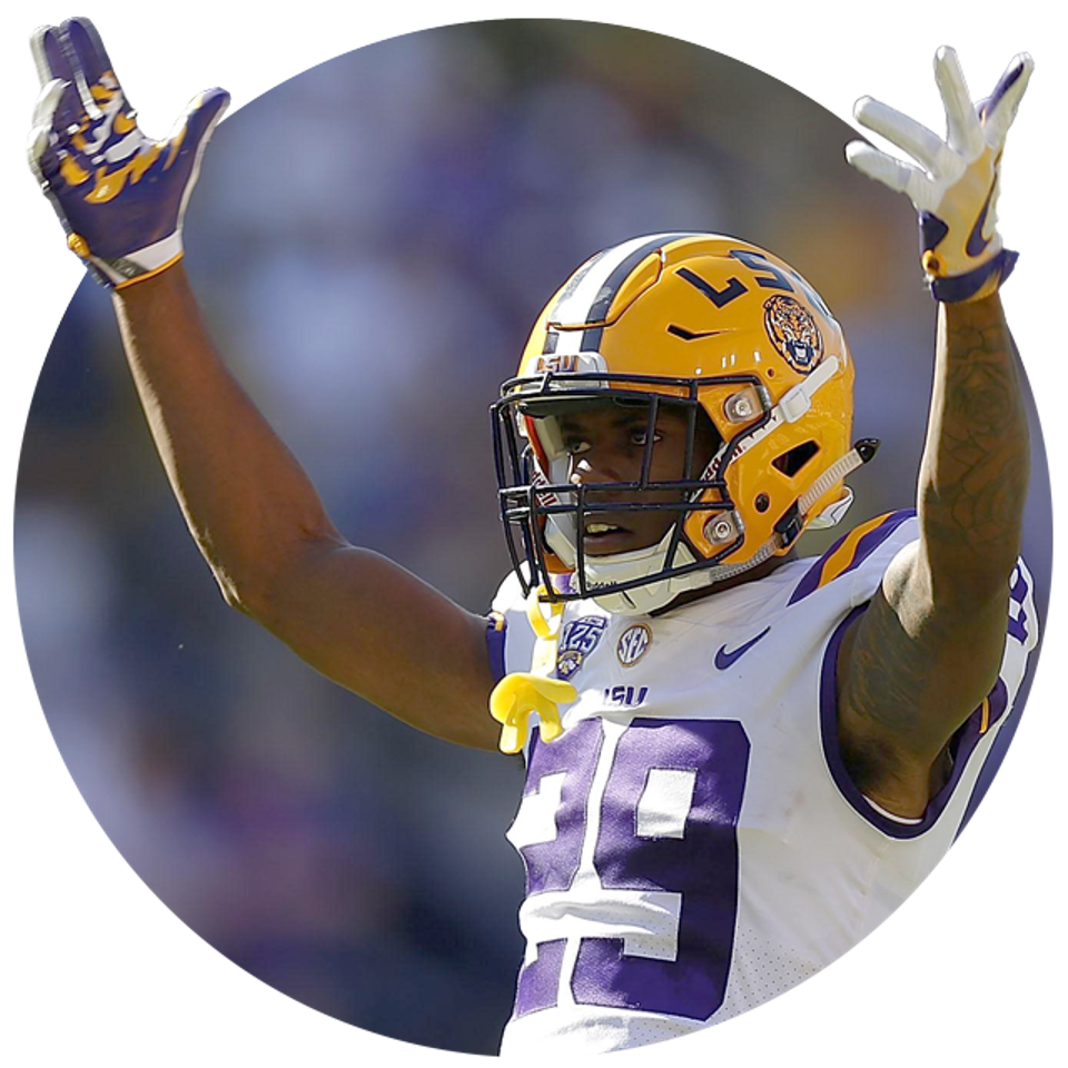 LSU's Greedy Williams.