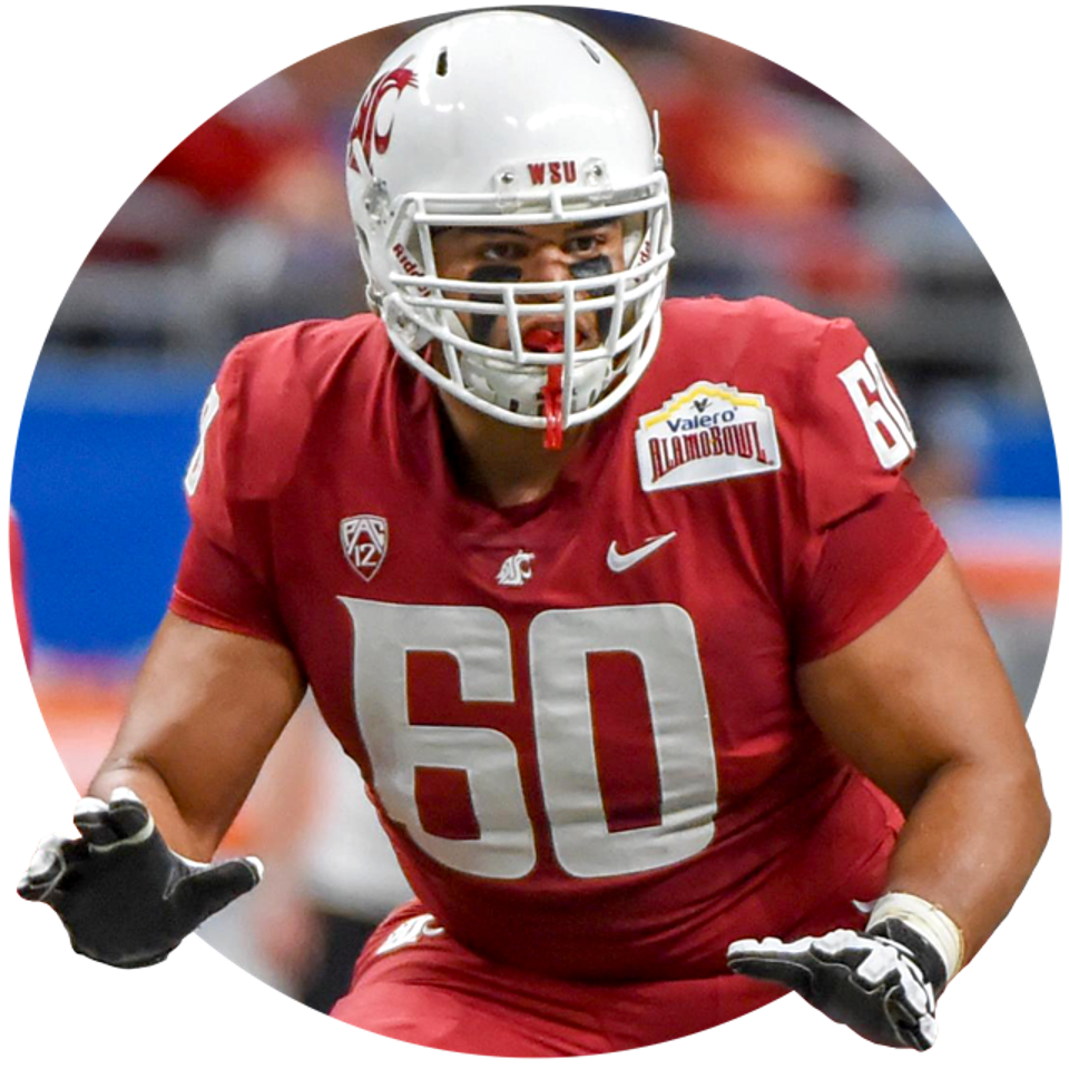 Washington State's Andre Dillard.