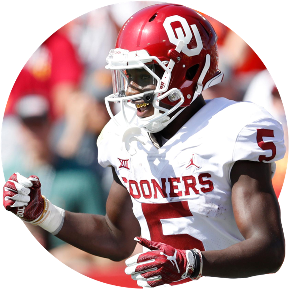 Oklahoma's Marquise Brown.