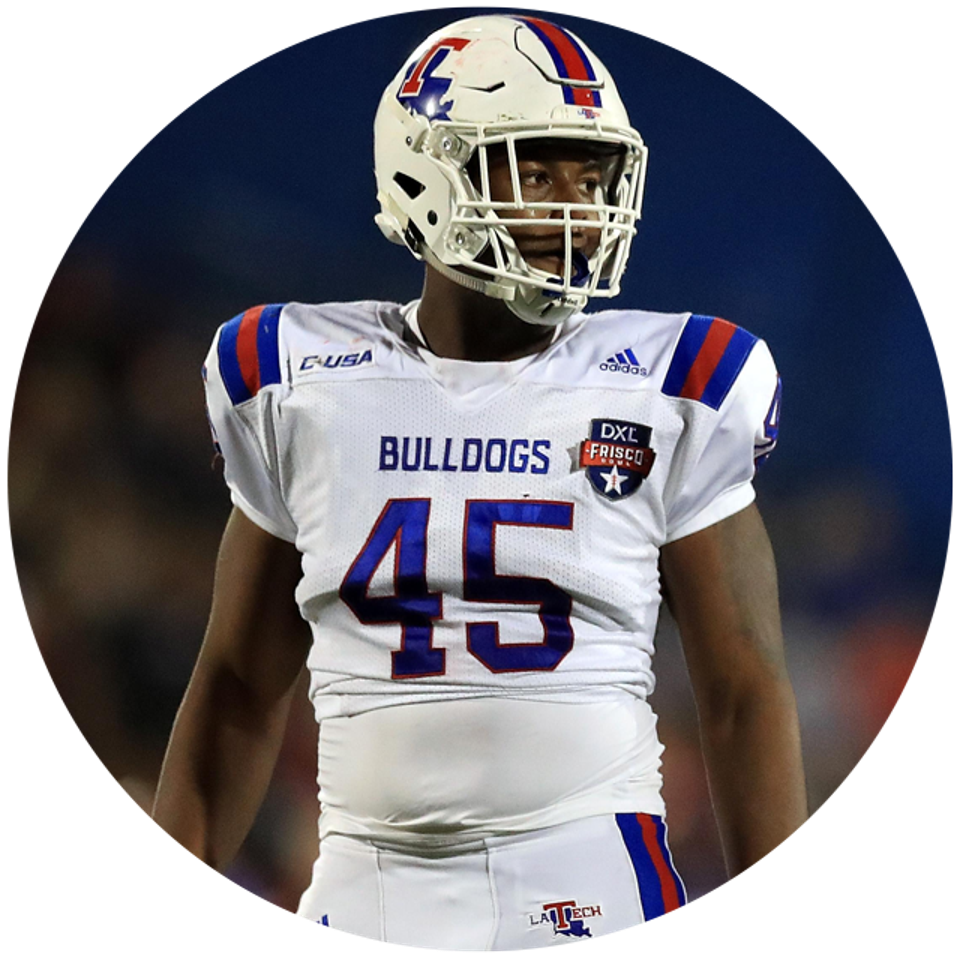 Louisiana Tech's Jaylon Ferguson.