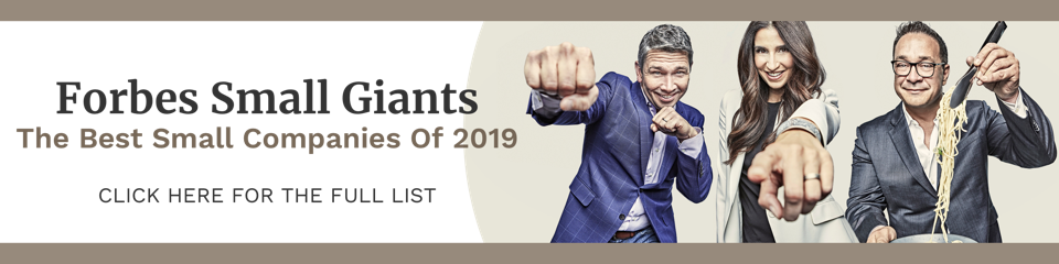 Forbes Small Giants 2019