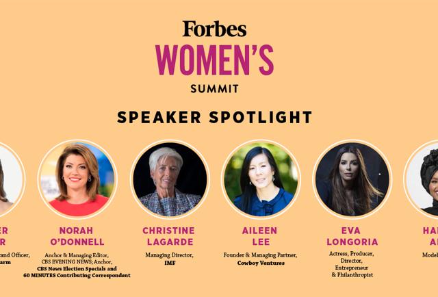 Christine Lagarde, Eva Longoria, Norah O'Donnell, Tory Burch, Lindsey Vonn And Jennifer Garner To Headline Forbes' Women's Summit