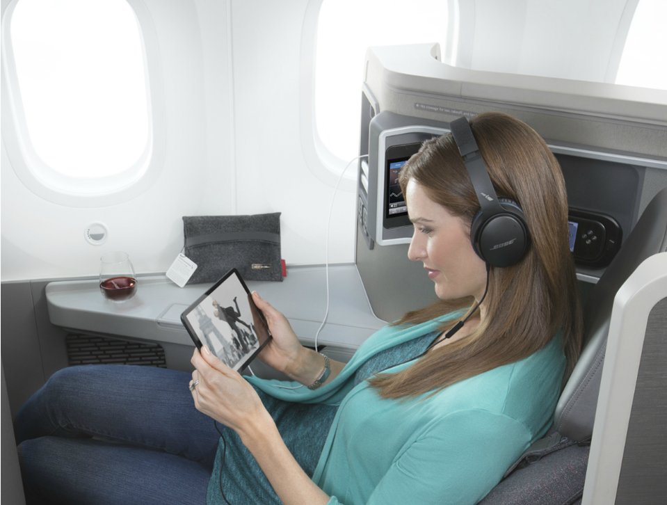 American Airlines high-speed Wi-Fi