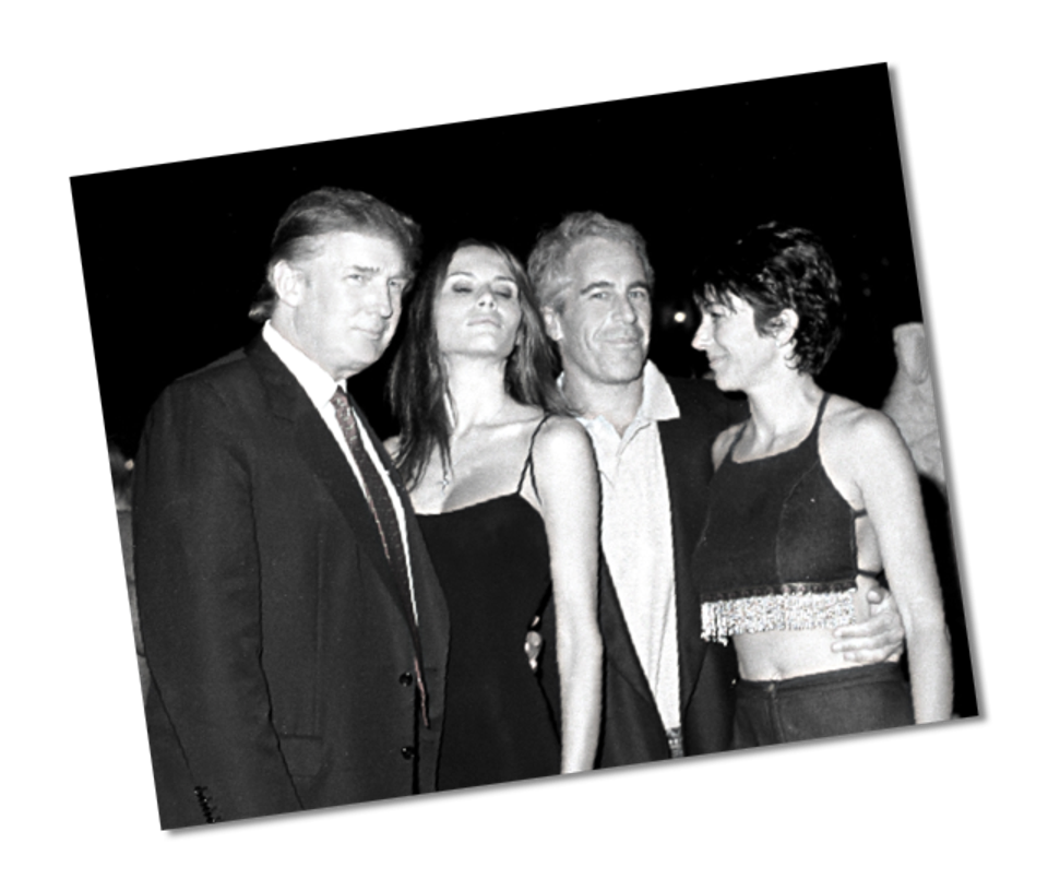 Trump and Epstien at Mar-A-Lago in 2000