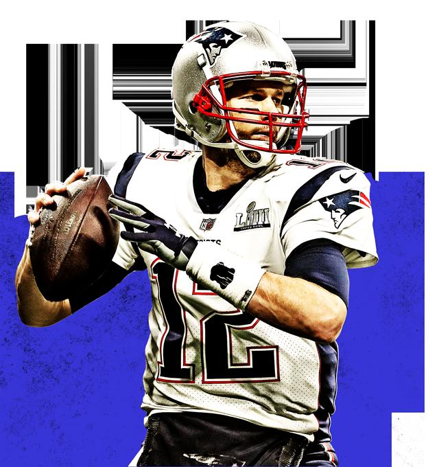 The New England Patriots' Tom Brady