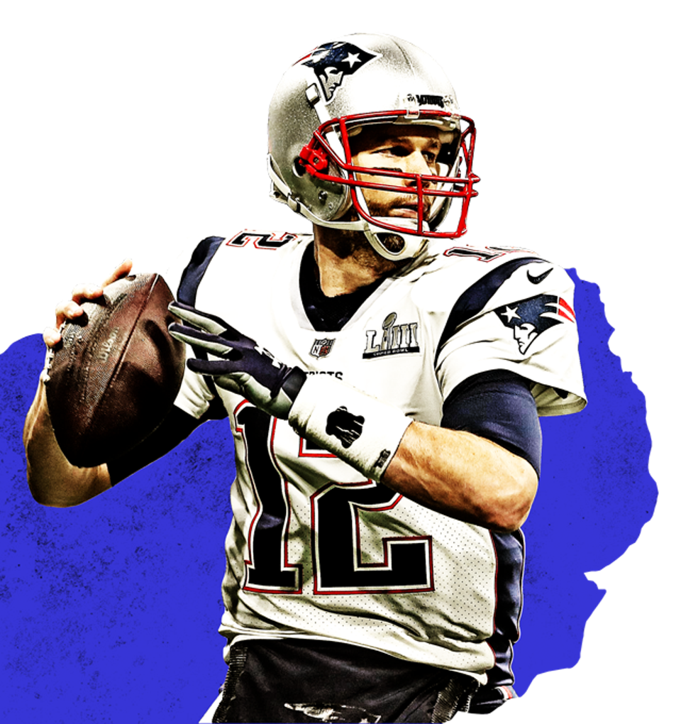 The New England Patriots' Tom Brady