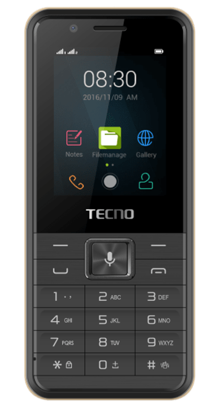 Tecno is selling the T901 3G smart feature phone running KaiOS.