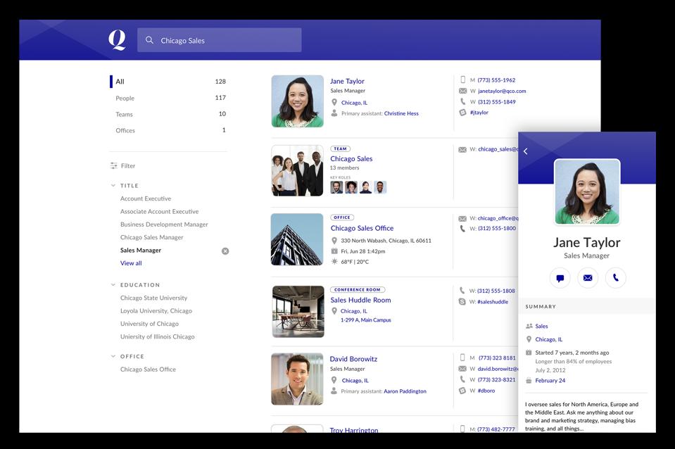 Rimeto gathers data into a single employee profile.