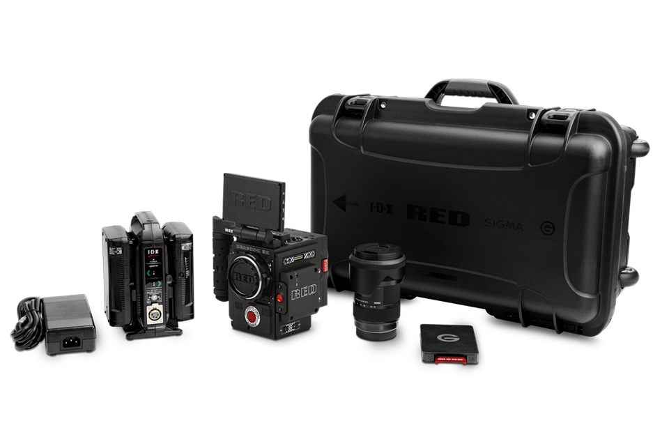 The RED Dragon kit is a turnkey pro 4K video system.