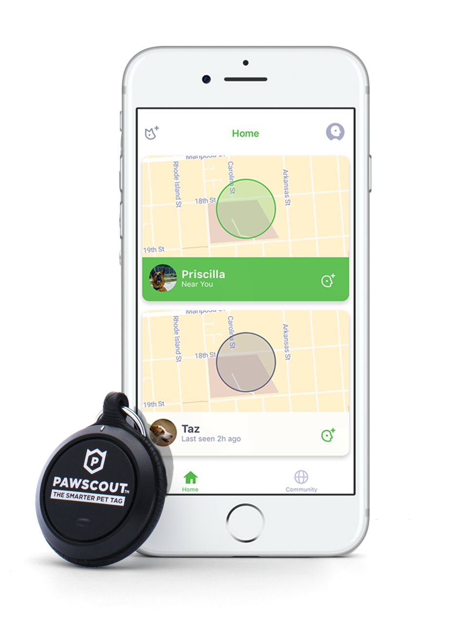 The Pawscout Smarter Pet Tag could save your pet's life.