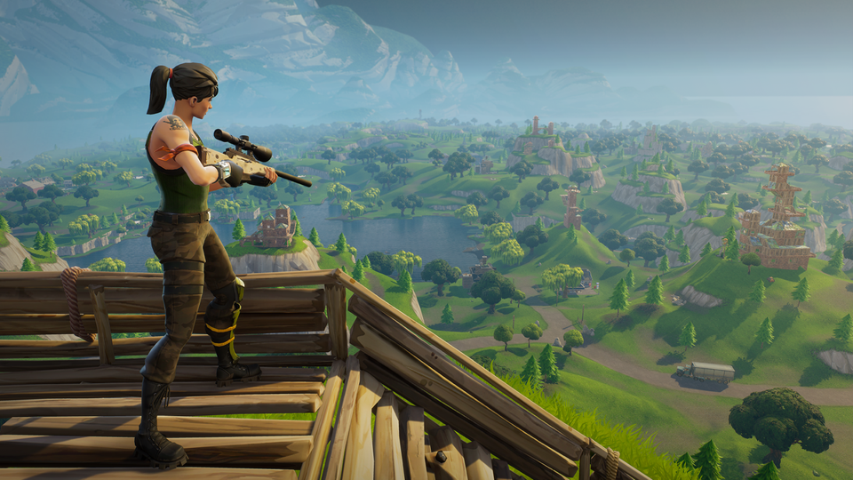 'Fortnite' Is Adding Bots For Lower-Skill Players To Fight