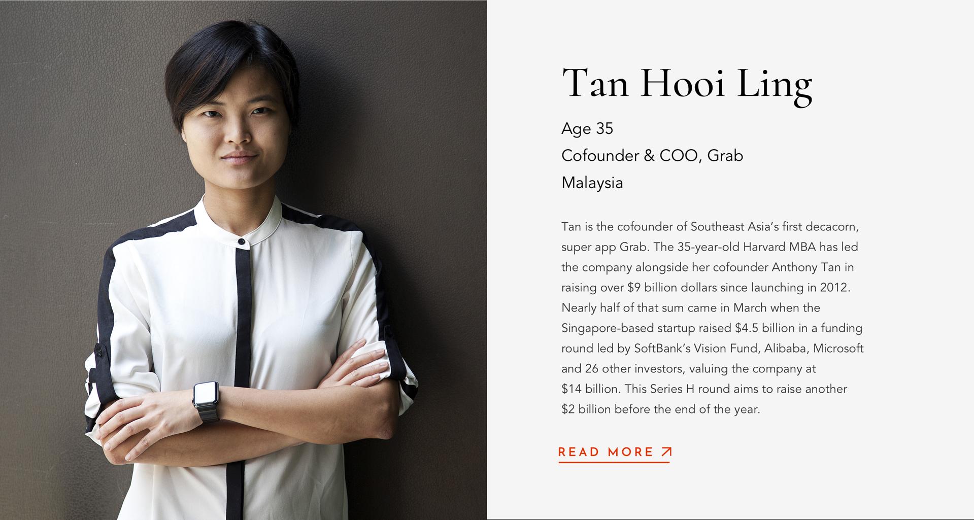 TanHooi LingCofounder & COOGrab35Malaysia