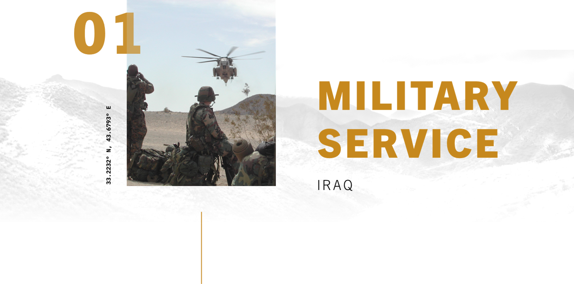 MILITARY SERVICE, IRAQ