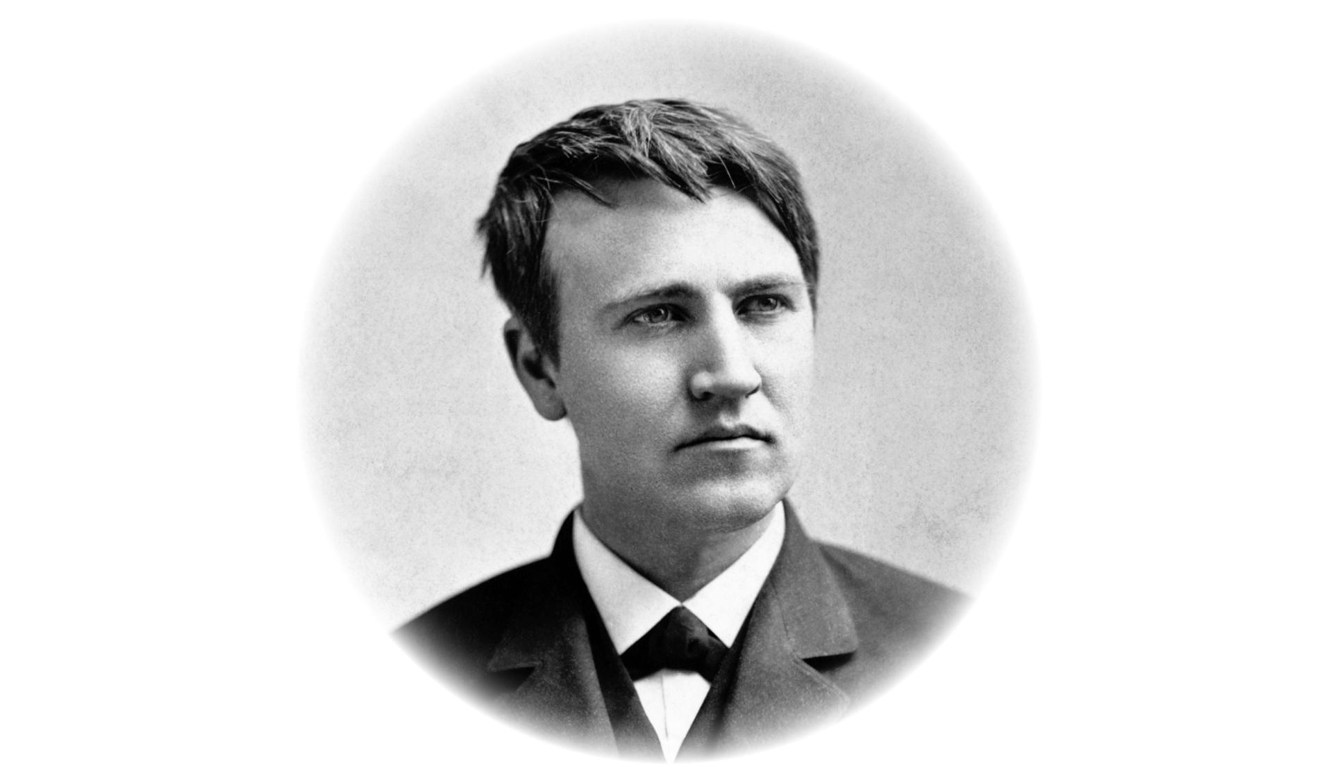 Thomas Edison, Circa 1870s