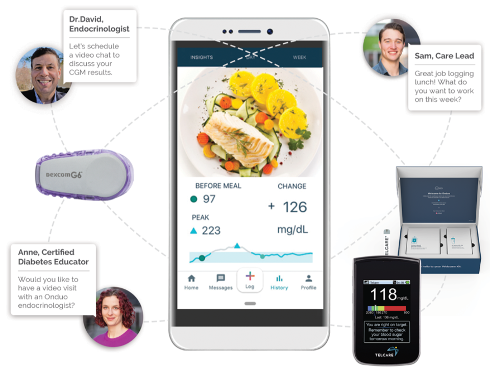 Tech-enabled diabetes management program from Onduo