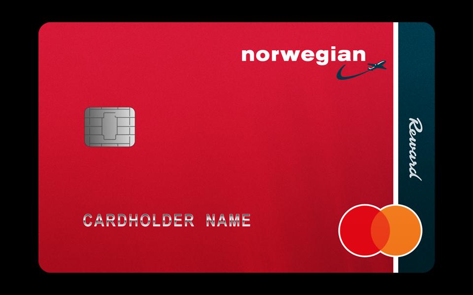 Norwegian Airlines credit card.