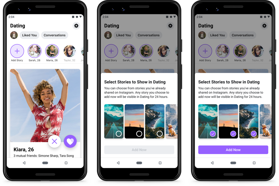 Facebook Dating will now let users share Stories to their profile.