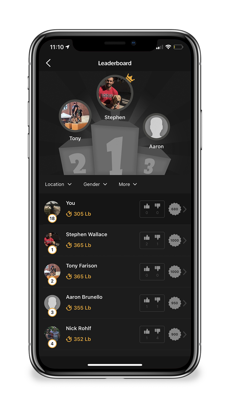 Challenge Me Competition App