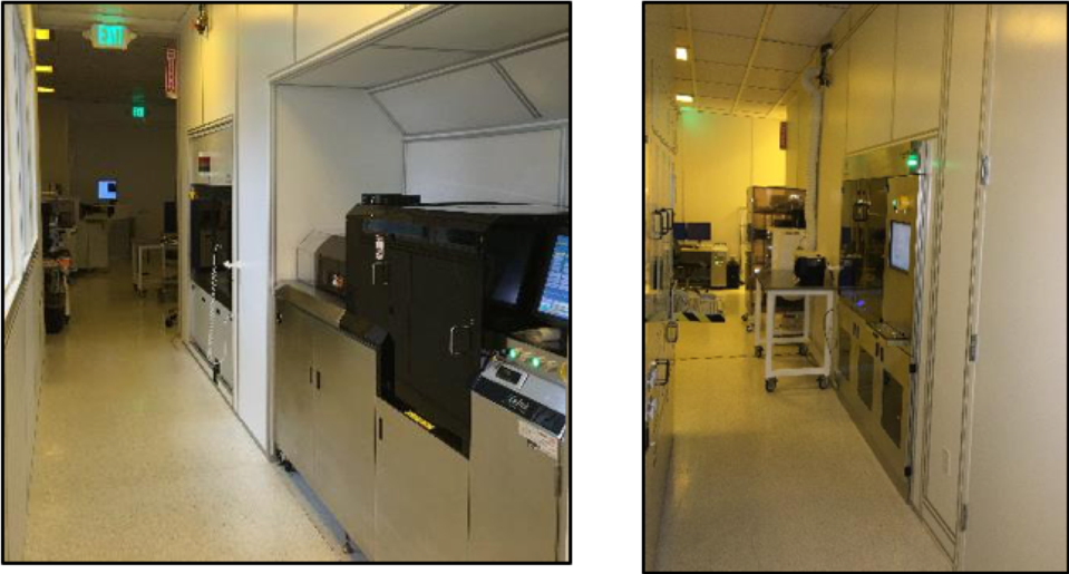Spin Memory Lab Showing equipment