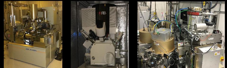 E-Beam, FIB and IBE-PVD equipment