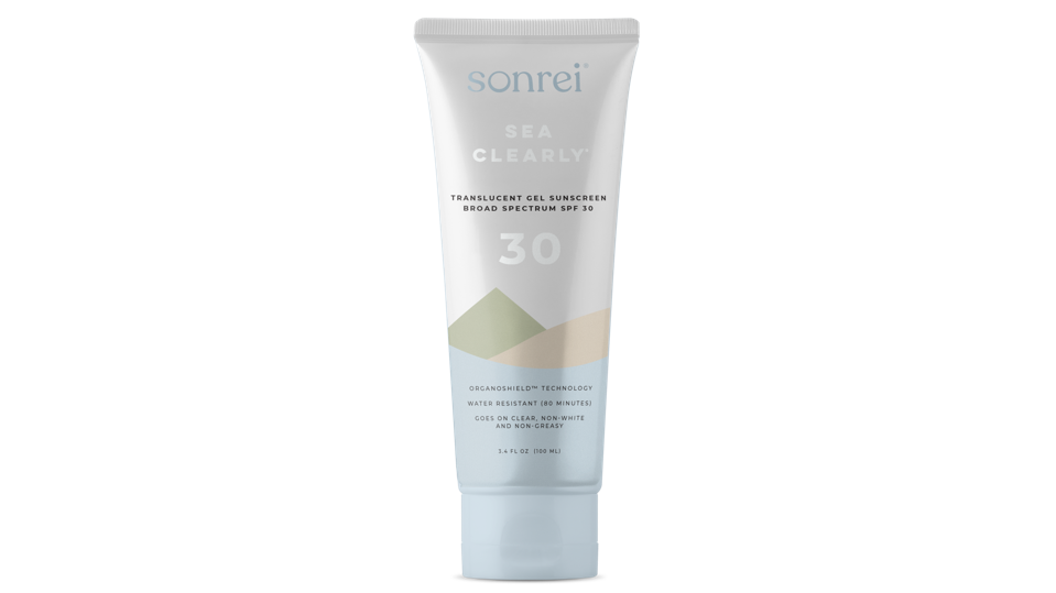 Skincare gifts for travelers Sonrei Sea Clearly Gel Sunscreen