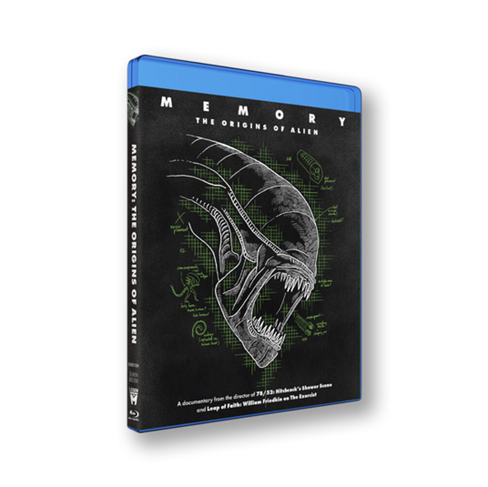 Memory: The Origins of Alien Blu-Ray from Legion M