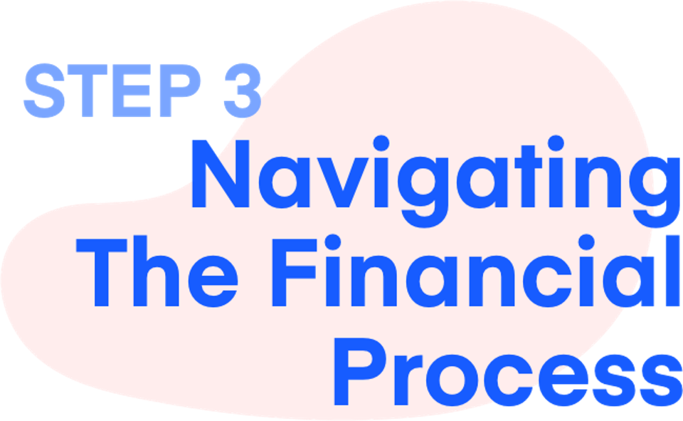 Step 3: Navigating The Financial Process