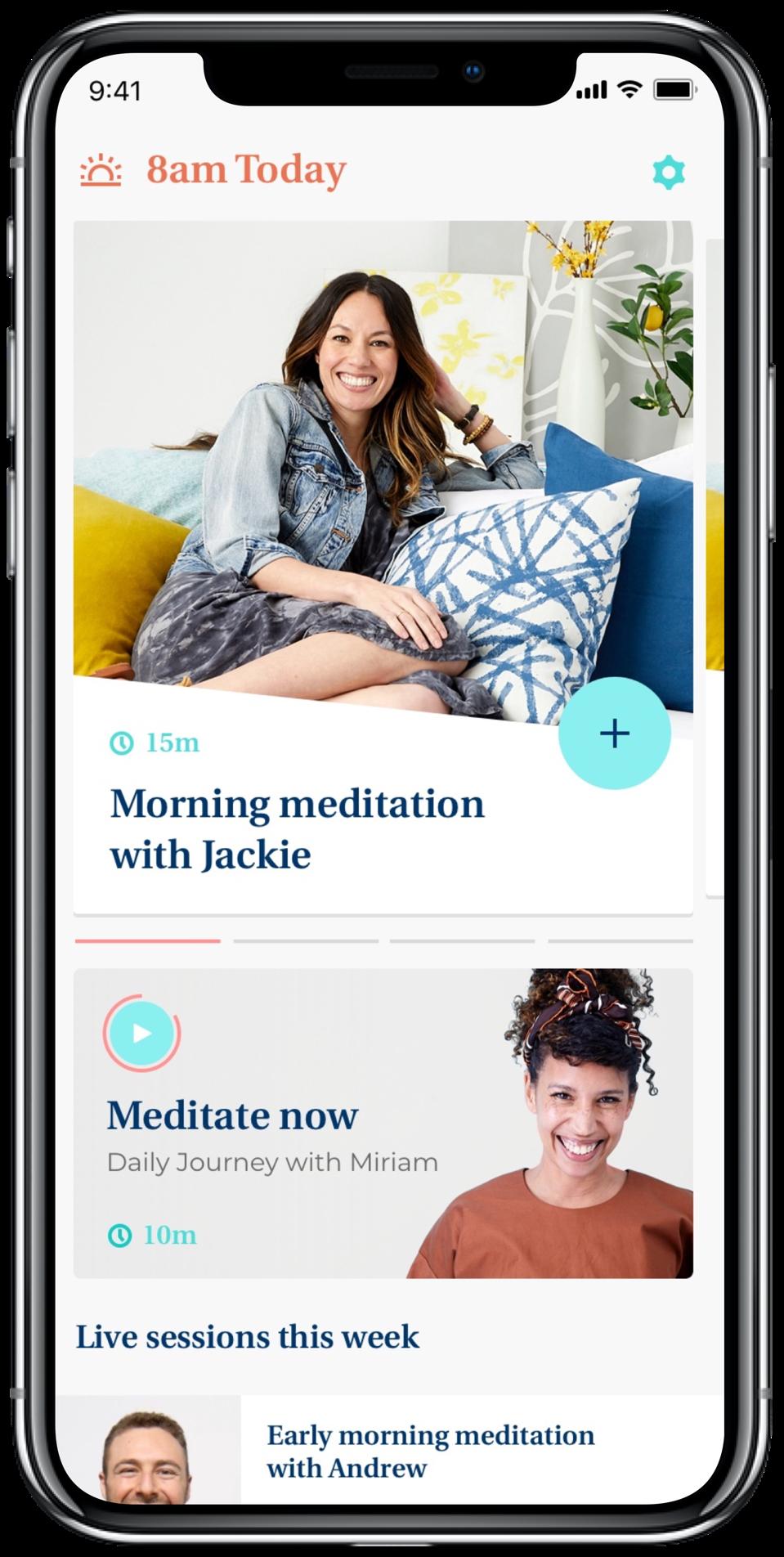JourneyLIVE: the first live, group meditation app