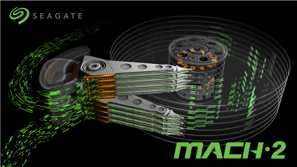 Seagate Mach 2 HDD And Microchip EERAM