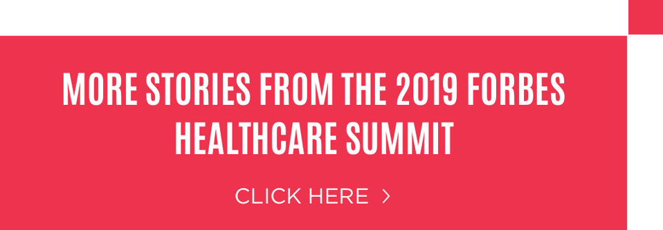 Link zur vollständigen Berichterstattung über den Healthcare Summit