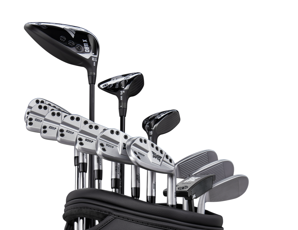 A bag of PXG's new irons