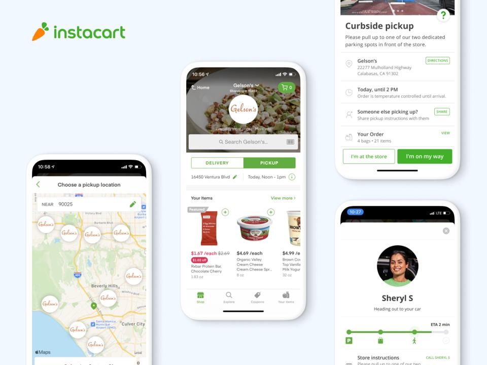 Instacart pickup app