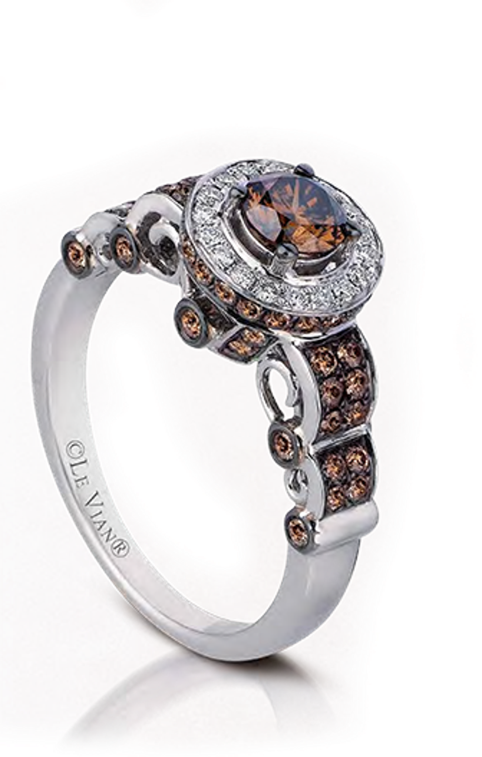 Chocolate diamond ring  by Le Vian