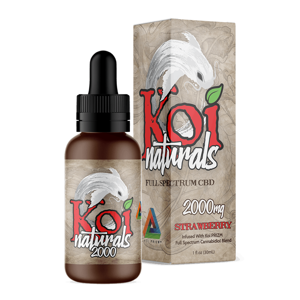Koi CBD Bottle
