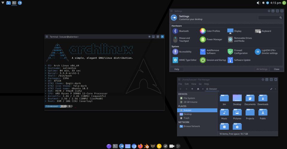 Salient OS (Xfce Version)
