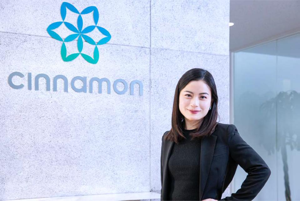 Hirano Miku is CEO and cofounder of Cinnamon AI