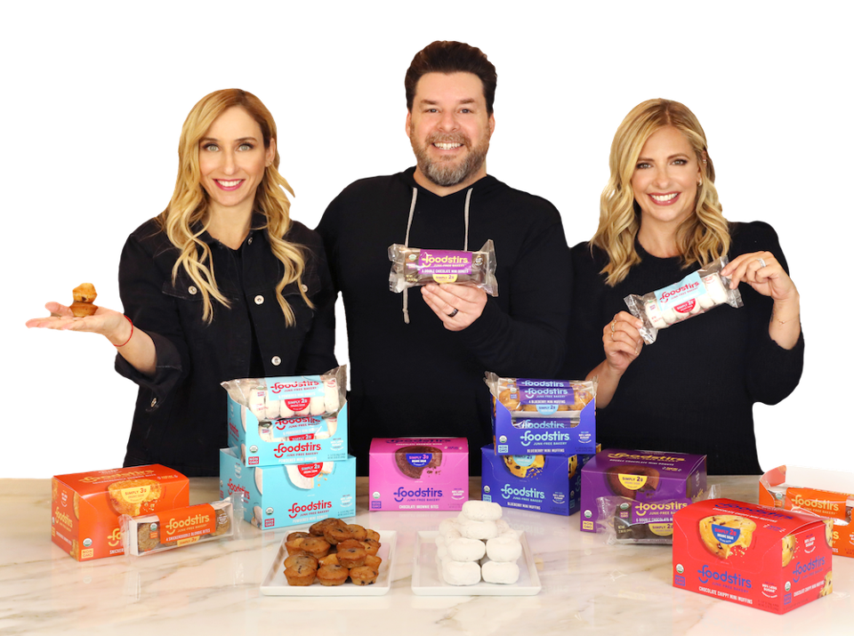 The management team of baking mixes company Foodstirs.