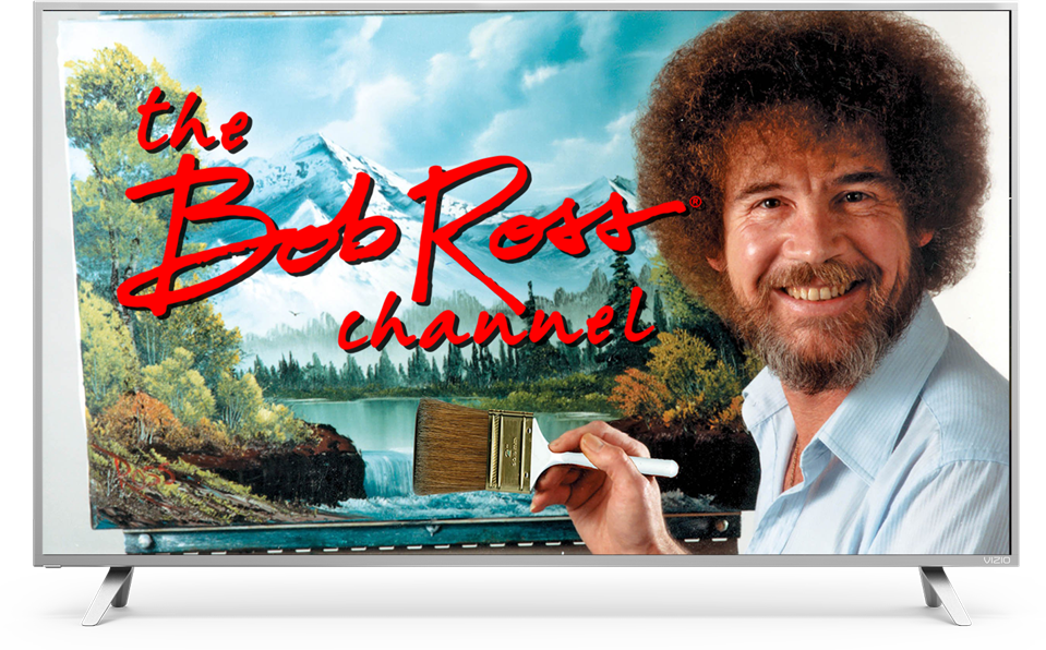 Bob Ross Channel promotional image