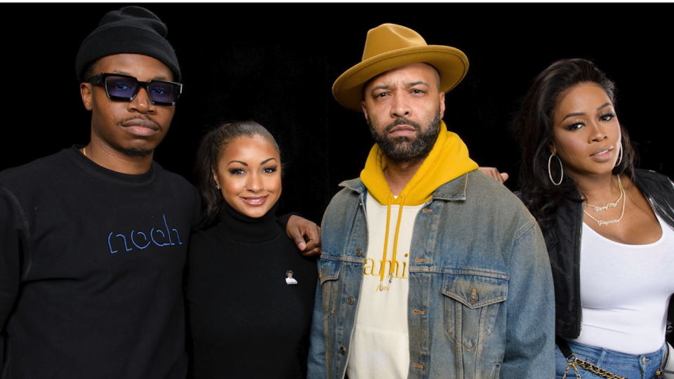 The official cast of Revolt TV's ″State of the Culture″.