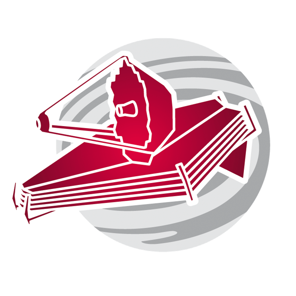 James Webb Space Telescope logo.