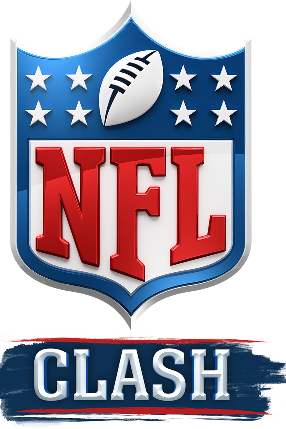 The logo for the new NFL Clash game to be released in 2020.