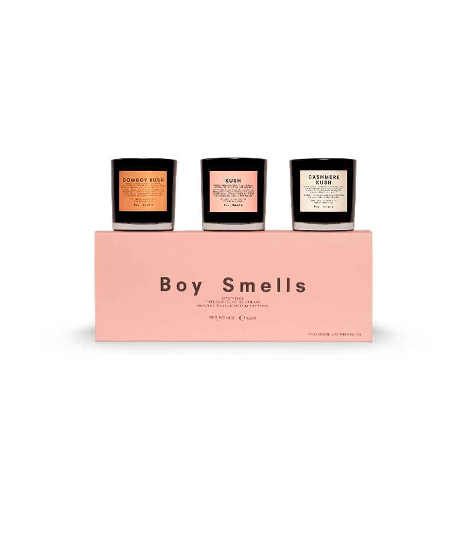 Boy Smells cannabis inspired candles