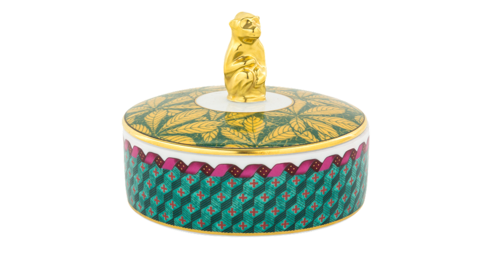 Richard Ginori Totem Monkey Box