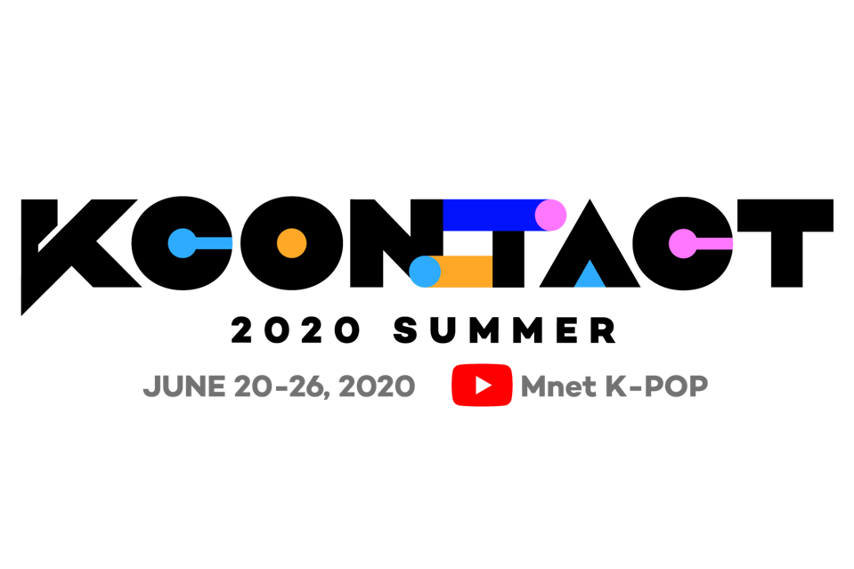 KCON:TACT 2020 Summer logo for KCON 2020 Los Angeles and New York